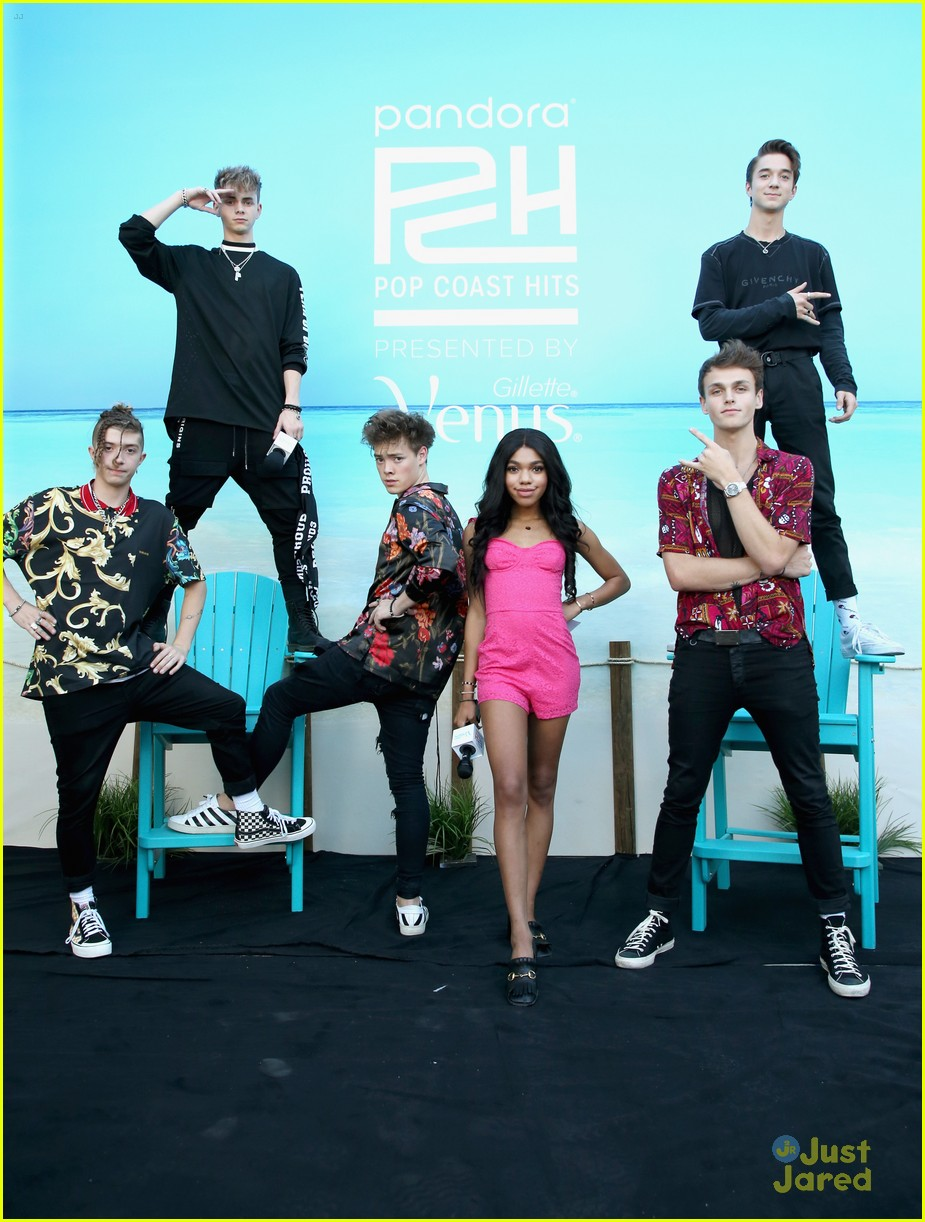 why dont we madison beer teala dunn pandora event 01