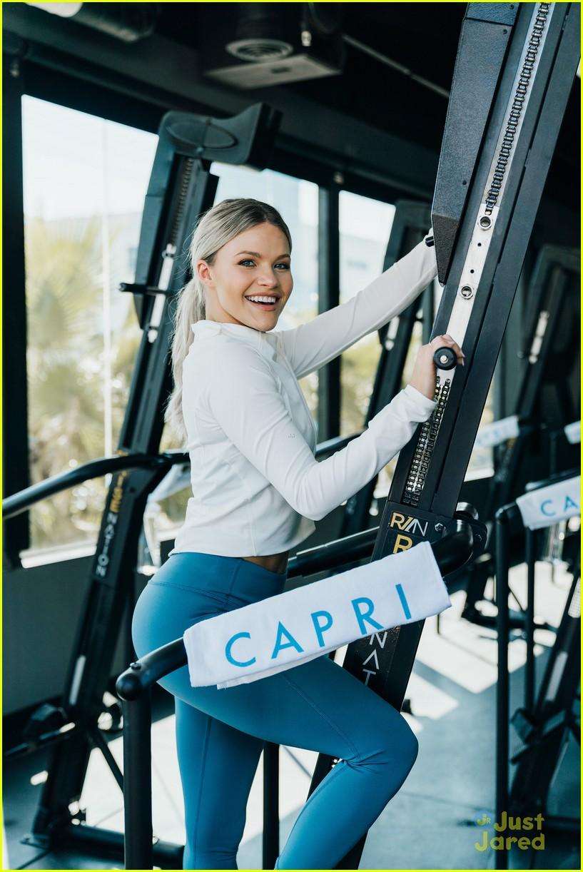 witney carson capri launch dwts milo rehearsal 04