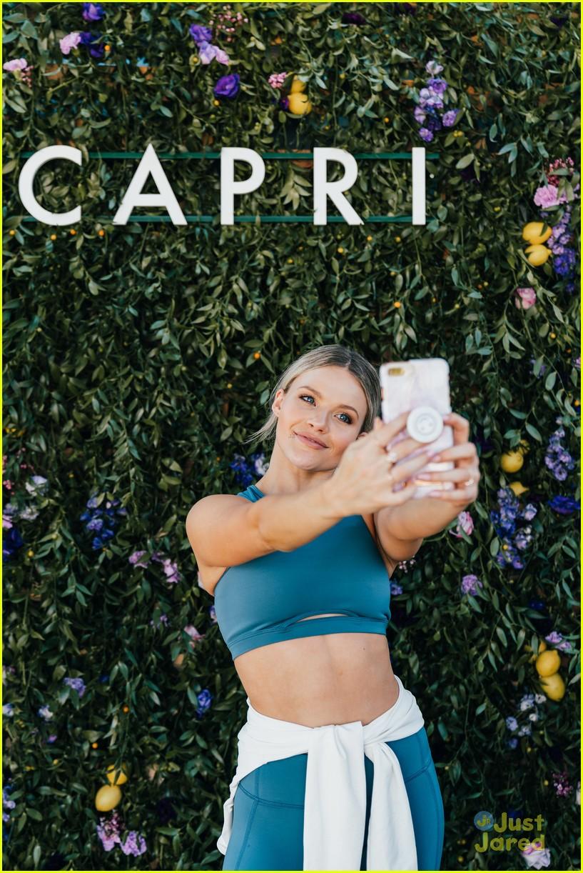 witney carson capri launch dwts milo rehearsal 10