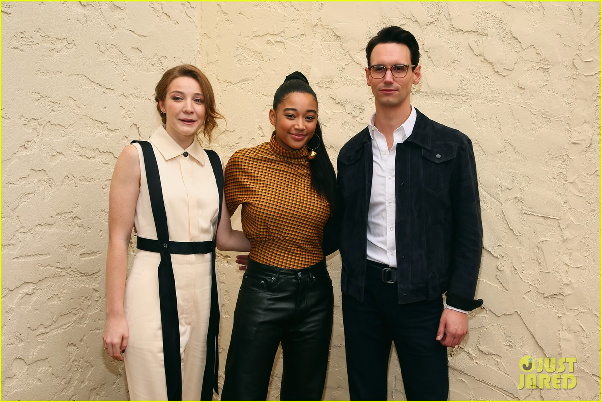amandla stenberg joins kayli carter cory michael smith for breakthrough talk 10