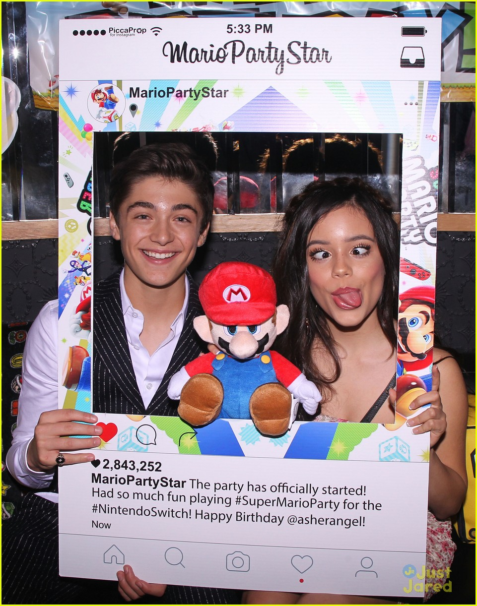 asher angel 16 bday nintendo party pics 11