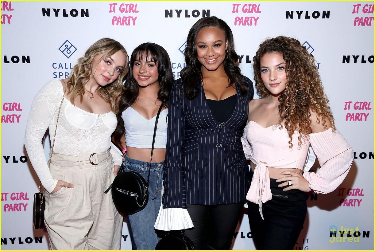 bailee liana haley nylon it girl party pics 05