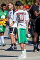 justin bieber goes shirtless playing soccer with friends 37
