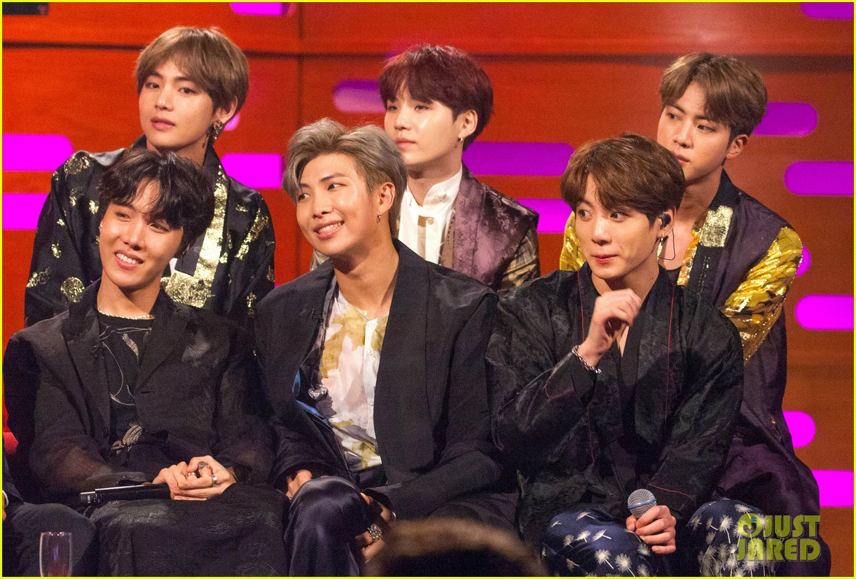 bts visit graham norton show as they announce burn the stage movie01