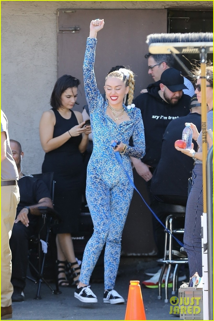 miley cyrus wears a jumpsuit for new project 01