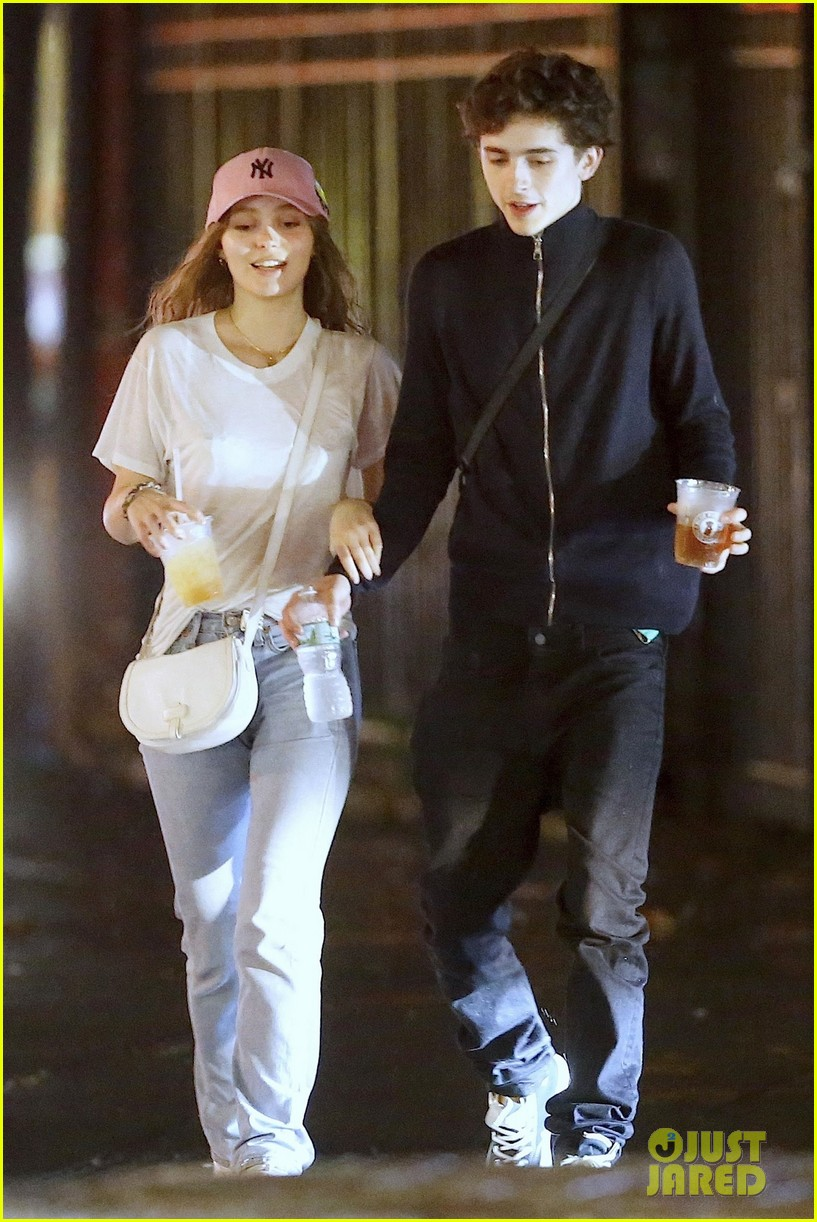 Timothee Chalamet Kisses Lily-Rose Depp - See the New Pics