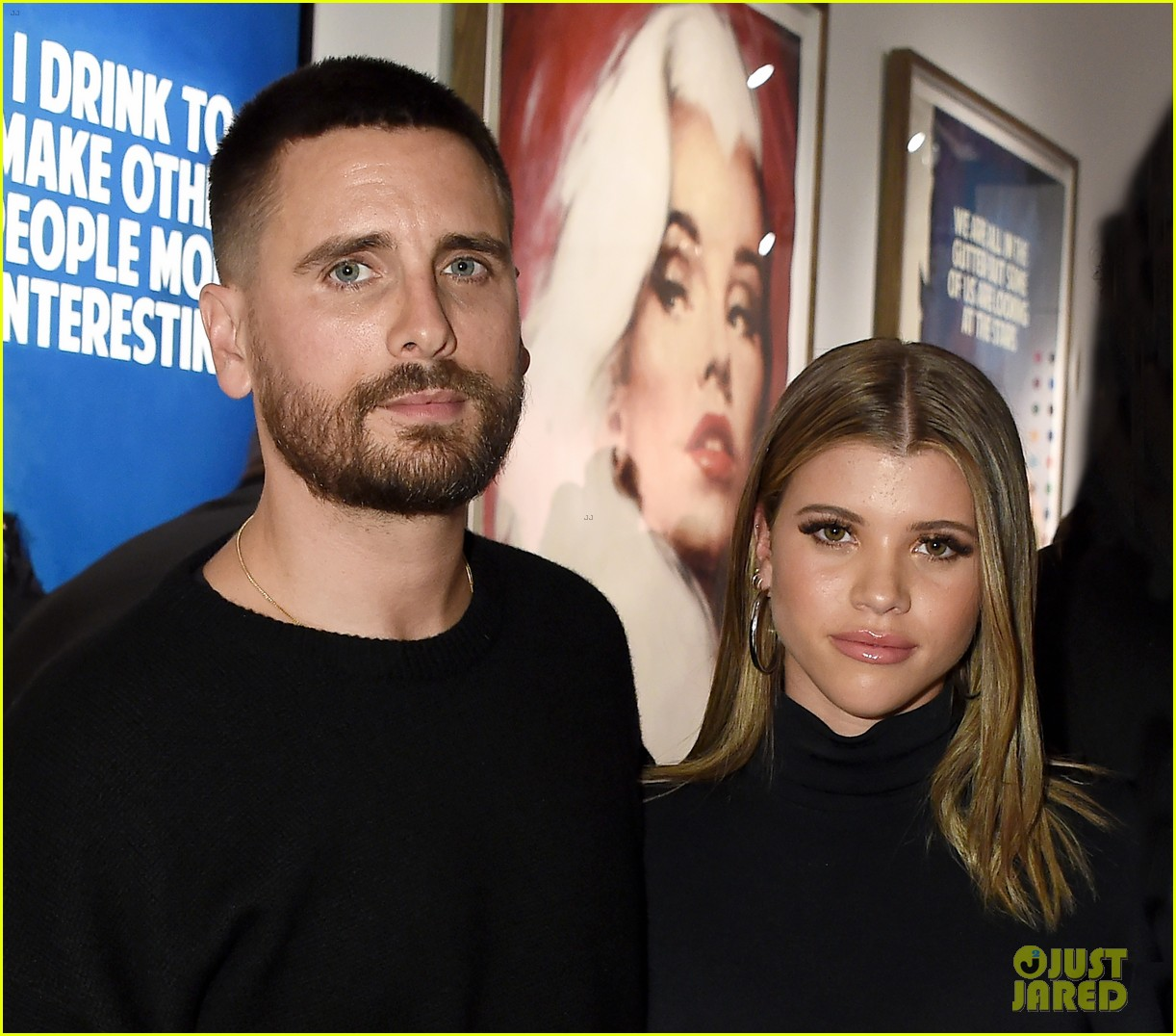 scott disick and sofia richie have date night at maddox gallery grand opening05