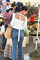 vanessa hudgens dons halloween inspired outfit ahead of farmers market trip13
