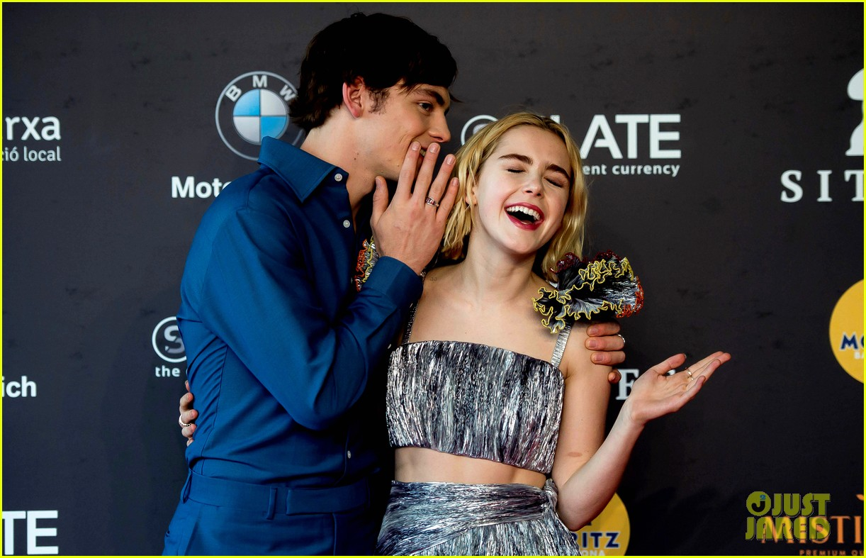 kiernan shipka ross lynch bring sabrina to sitges festival spain 07