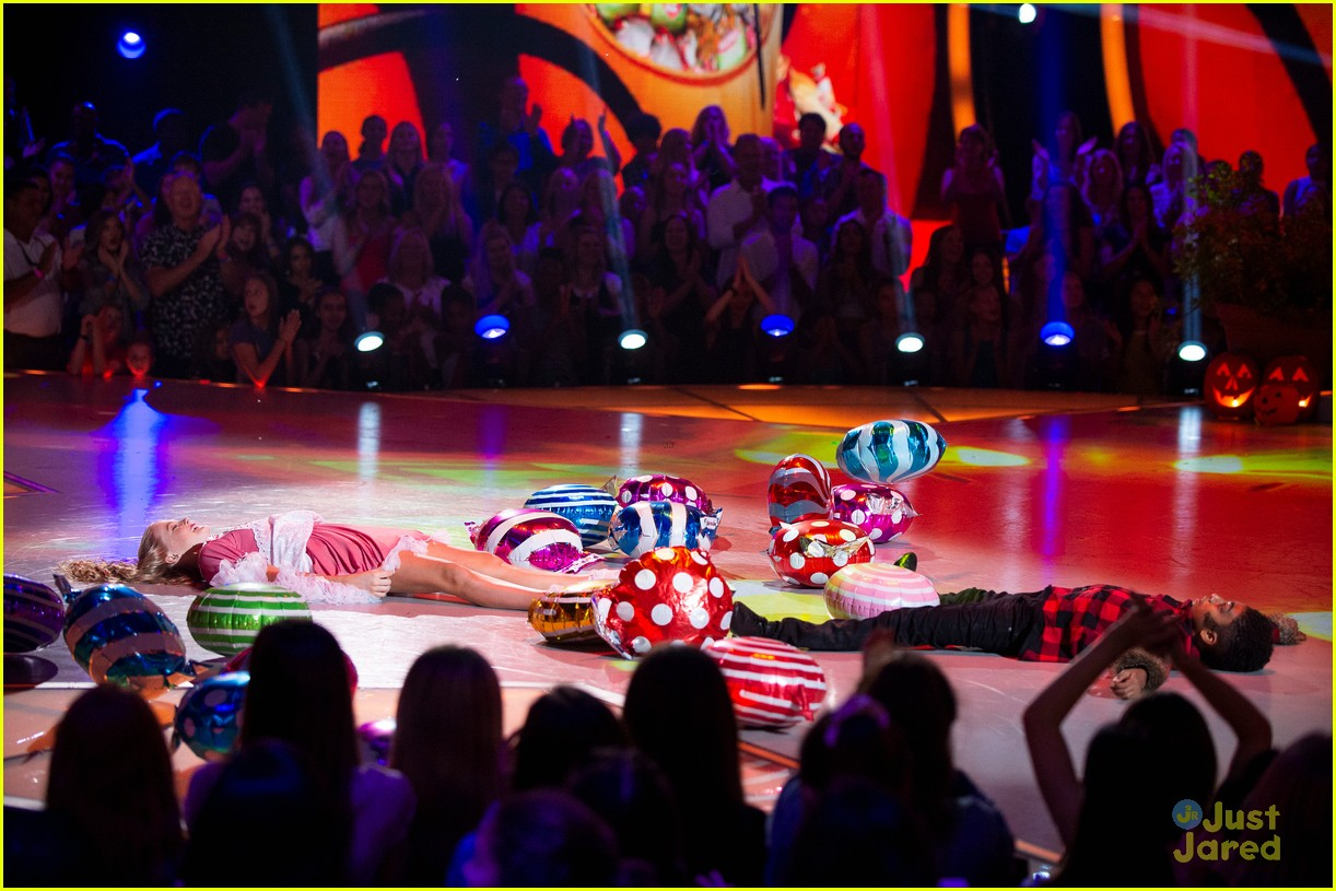 Miles Brown Is All About The Candy For Halloween on 'DWTS