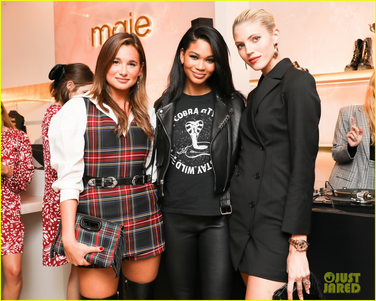 chloe moretz hosts maje 20th anniversary party 04