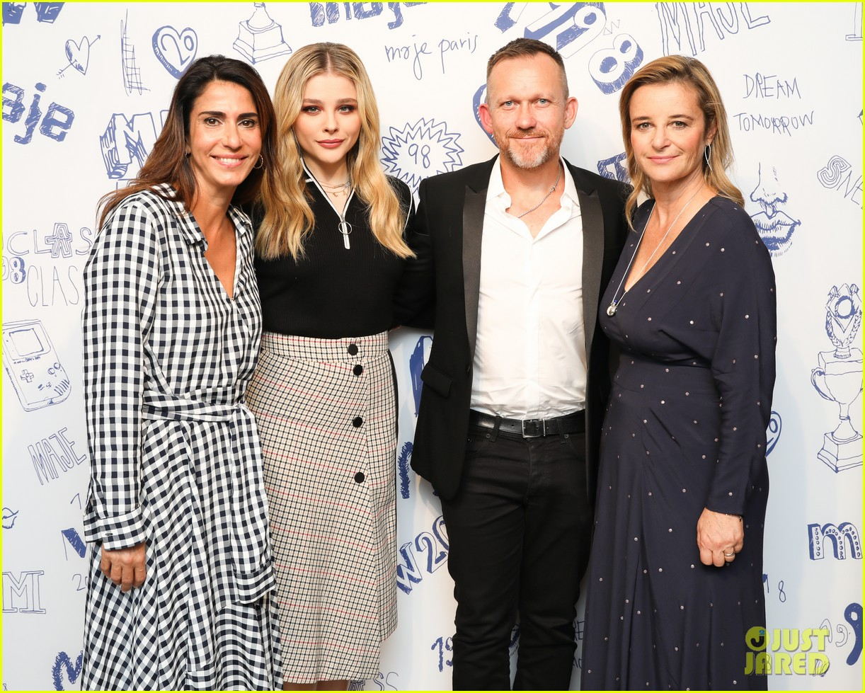 chloe moretz hosts maje 20th anniversary party 17