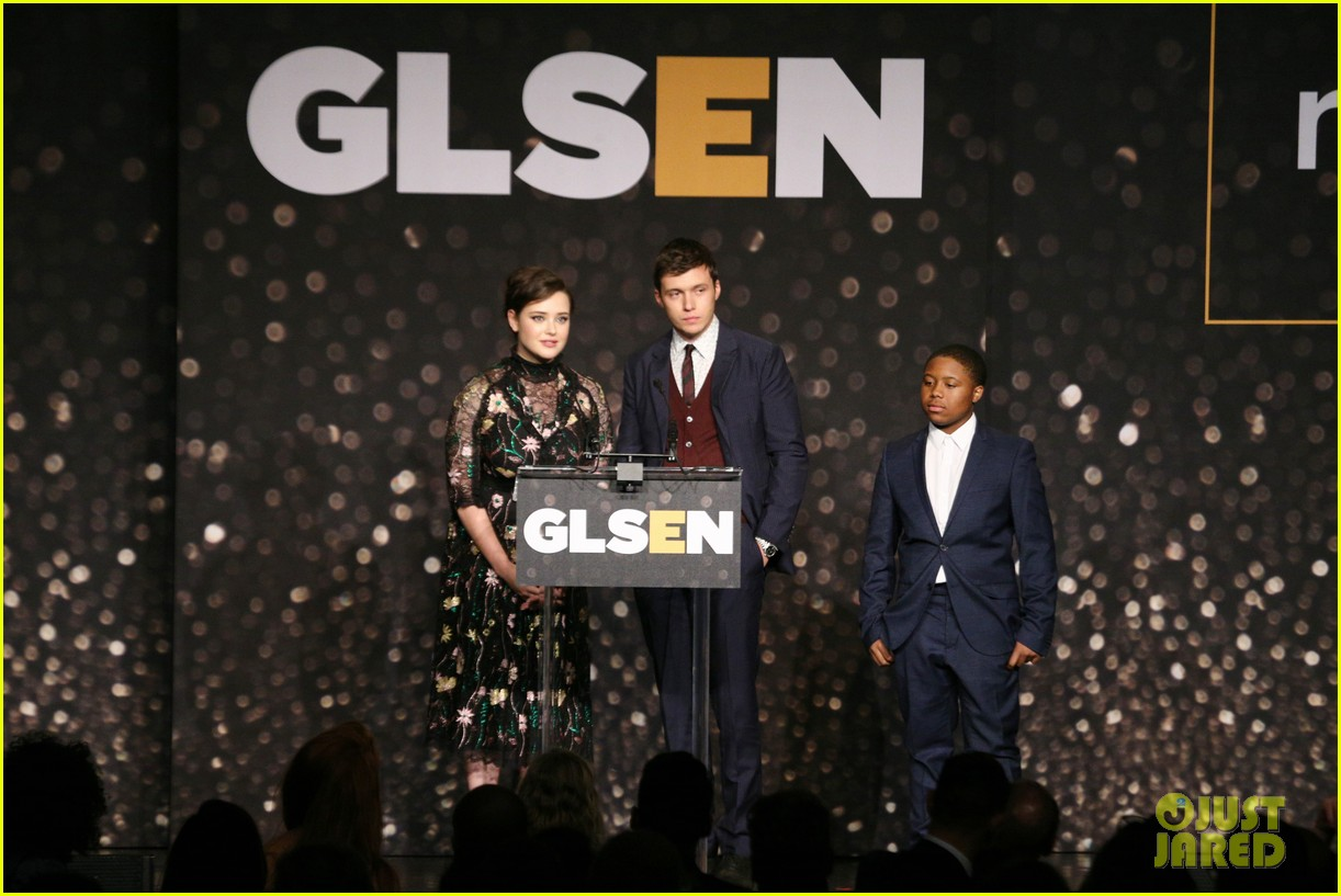 nick robinson katherine langford glsen respect awards 18