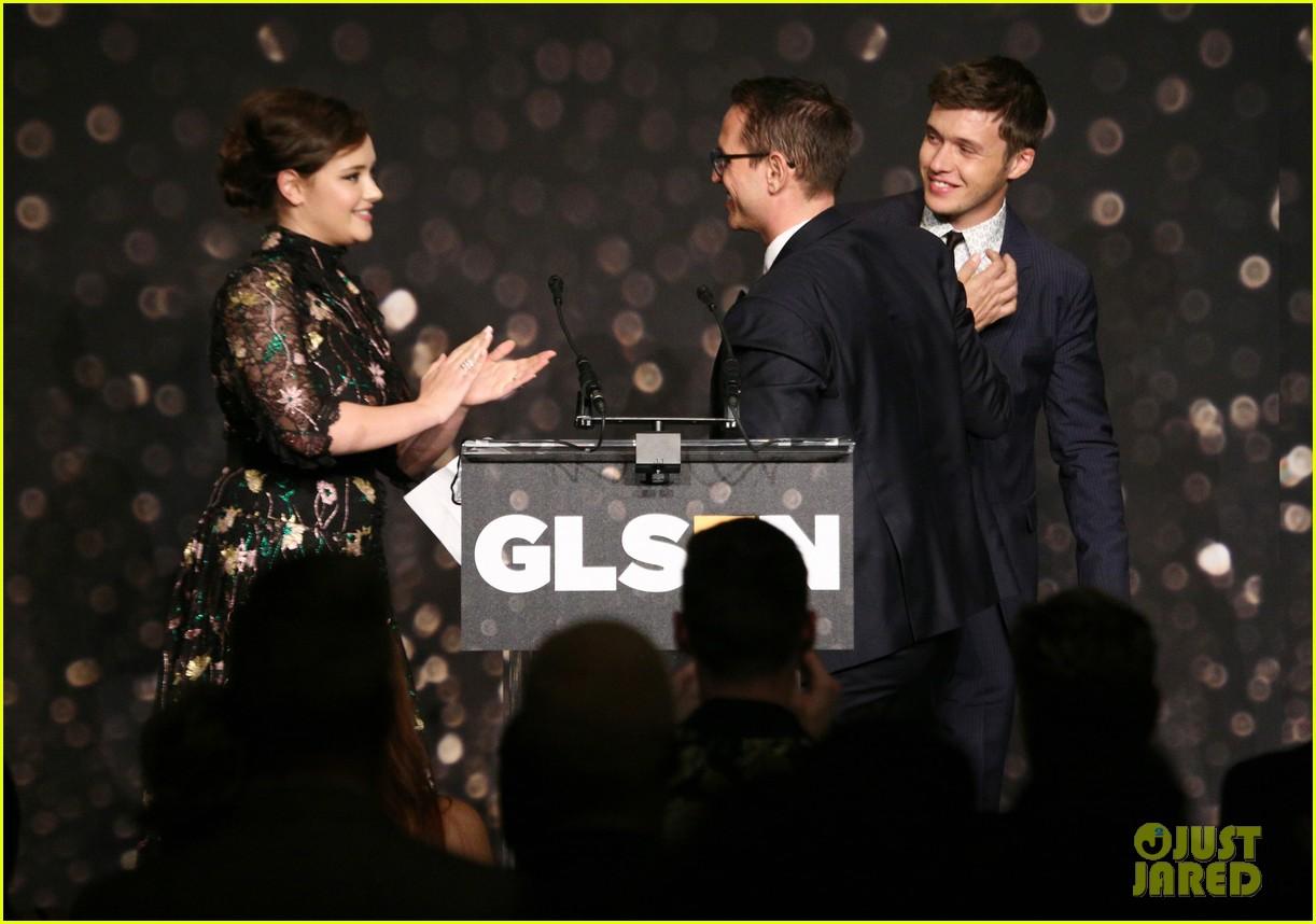 nick robinson katherine langford glsen respect awards 19