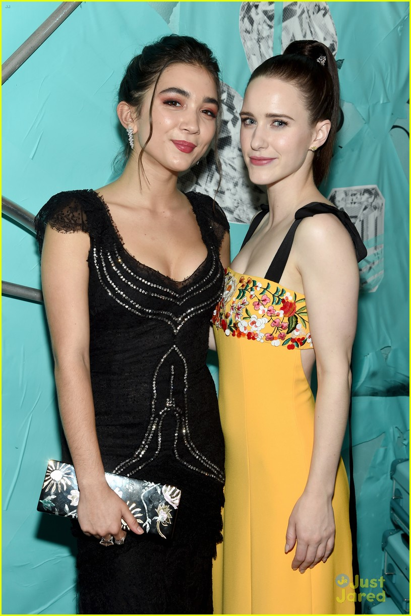 rowan blanchard tiffany event amandla support 05