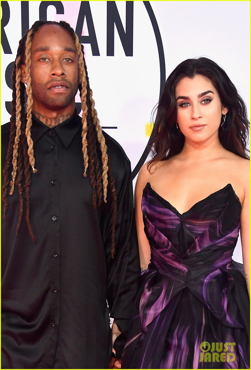 lauren jauregui ty dolla sign couple up for amas 01