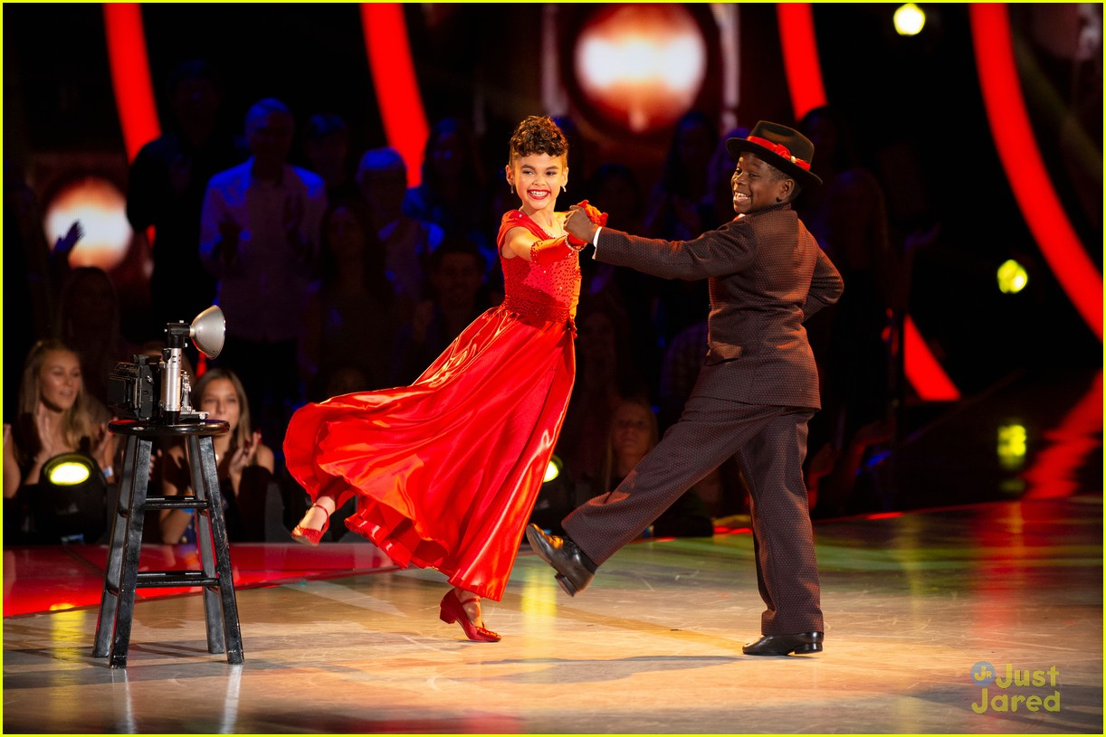 ariana greenblatt time quickstep dwtsjrs 02