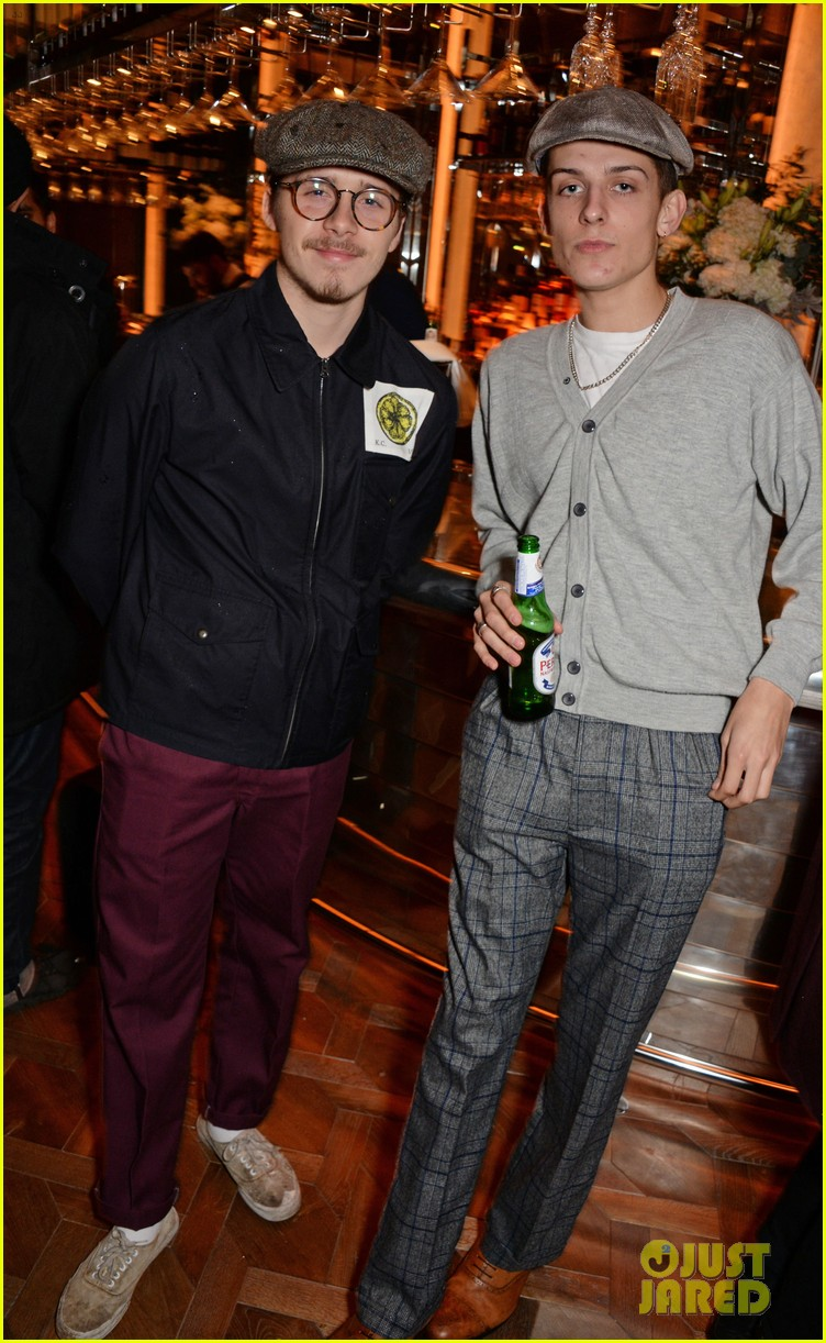 brooklyn beckham iris law brasserie event 12
