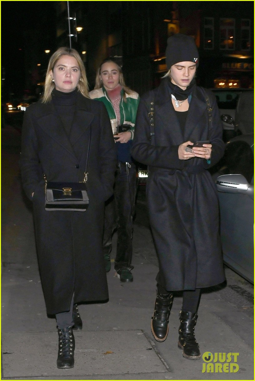 ashley benson cara delevingne thanksgiving in london 01