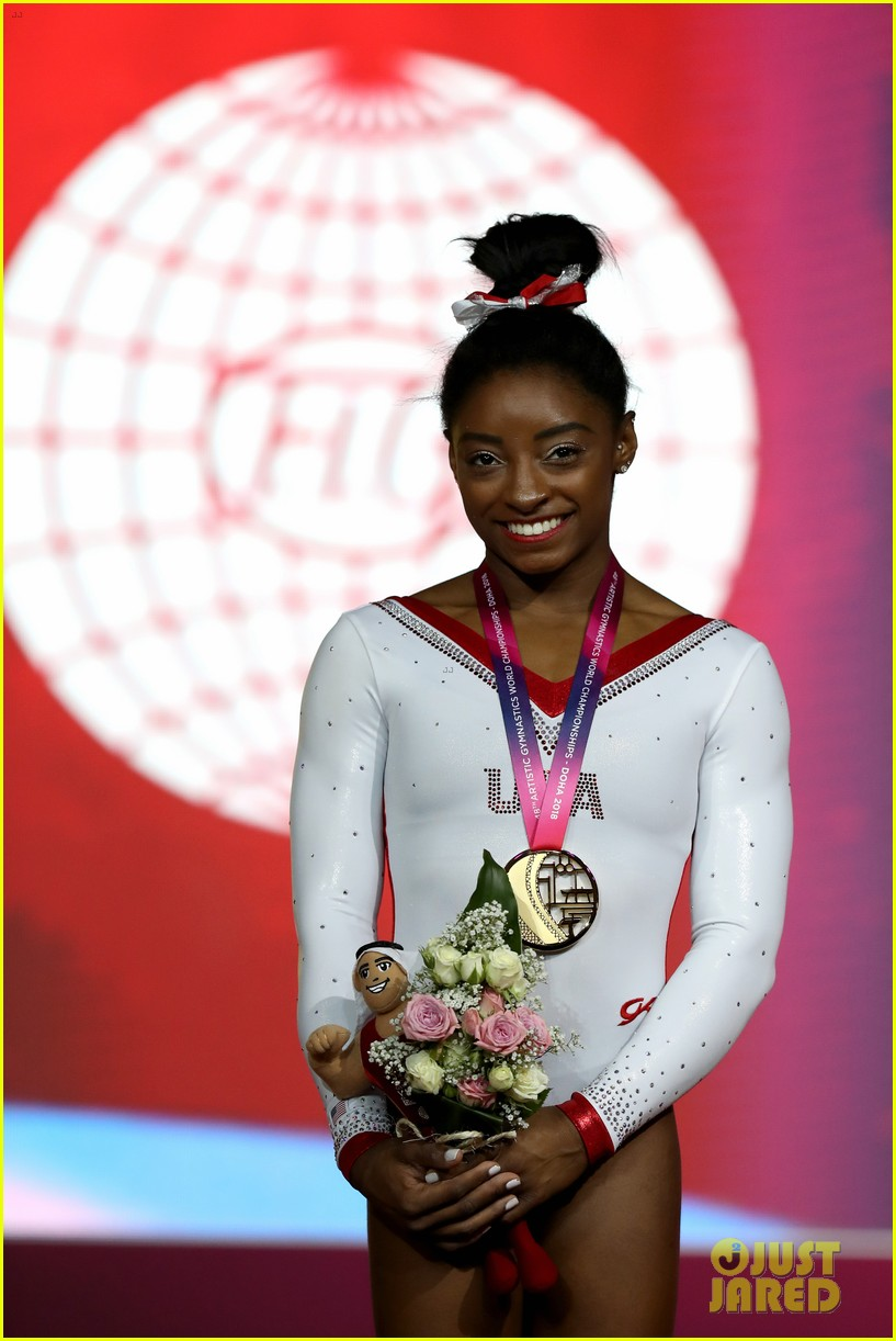 simone biles becomes first american to win medals in every event at worlds 13