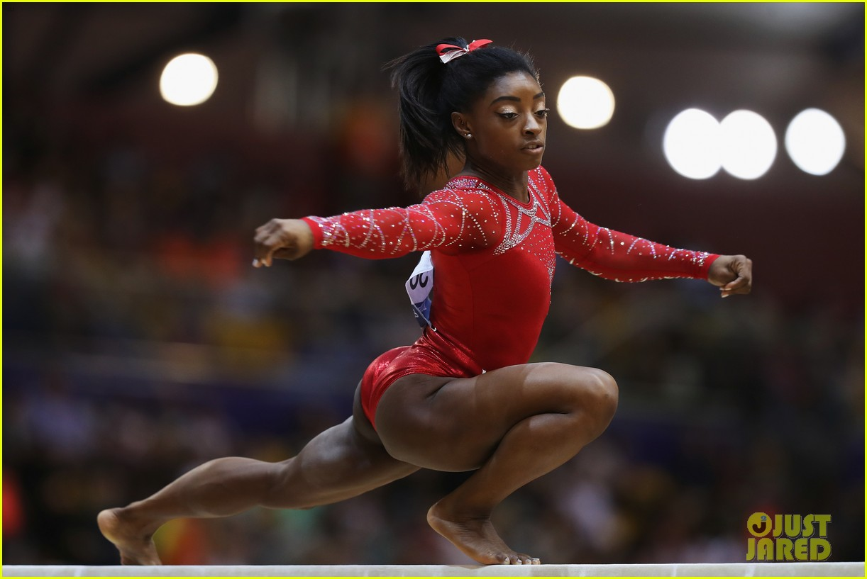 simone biles becomes first american to win medals in every event at worlds 23