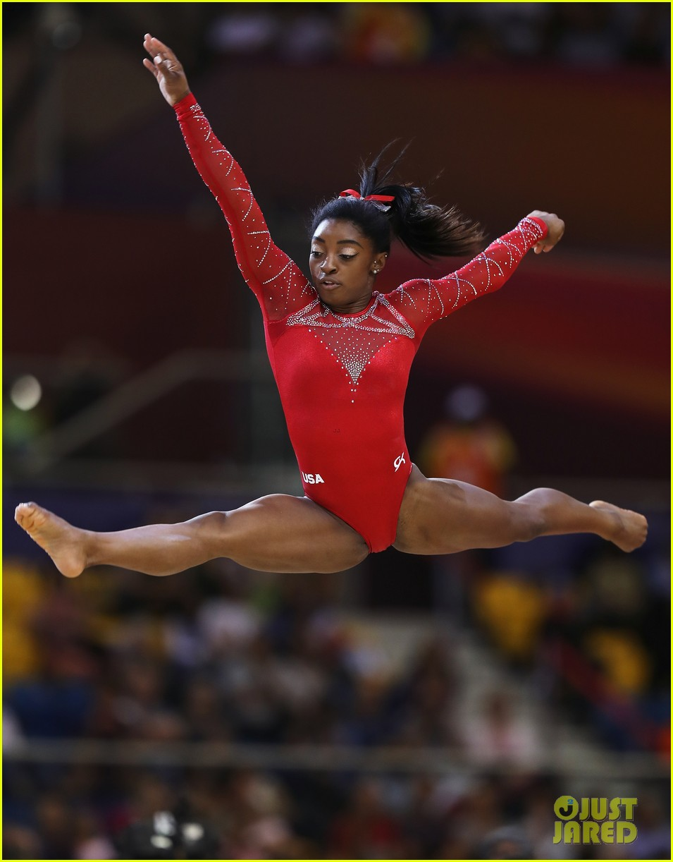 simone biles becomes first american to win medals in every event at worlds 24