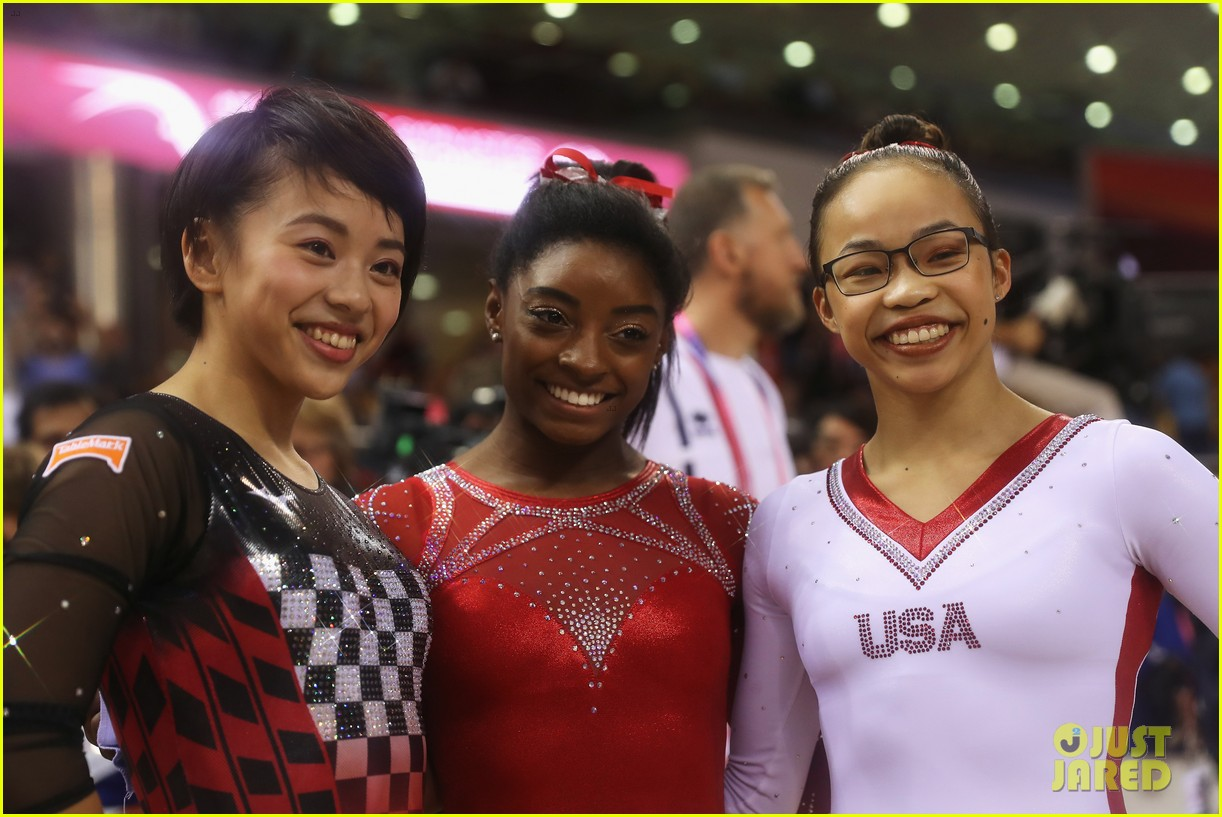 simone biles becomes first american to win medals in every event at worlds 26