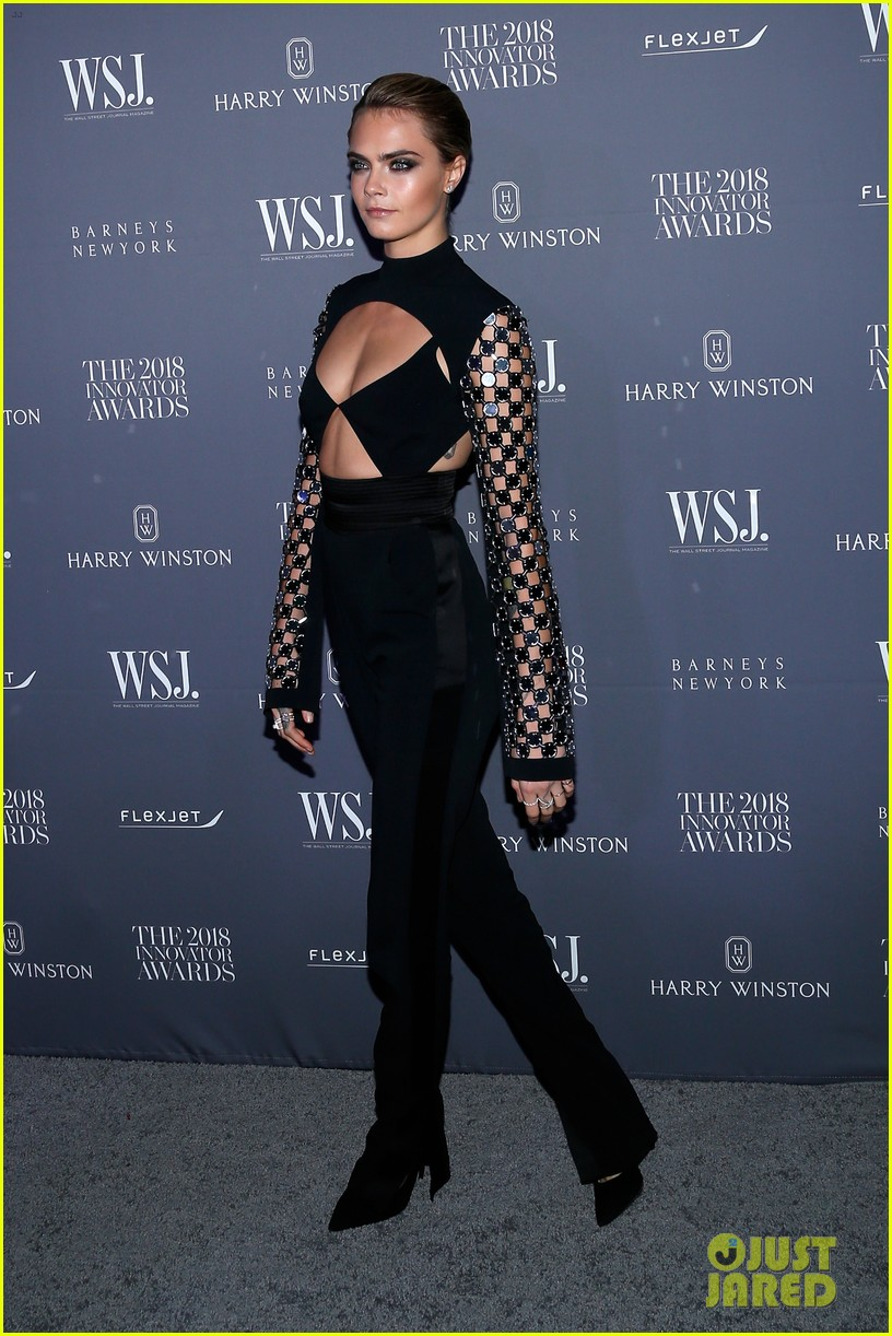 cara delevingne attends wsj magazine innovator awards honor phoebe waller bridge 03