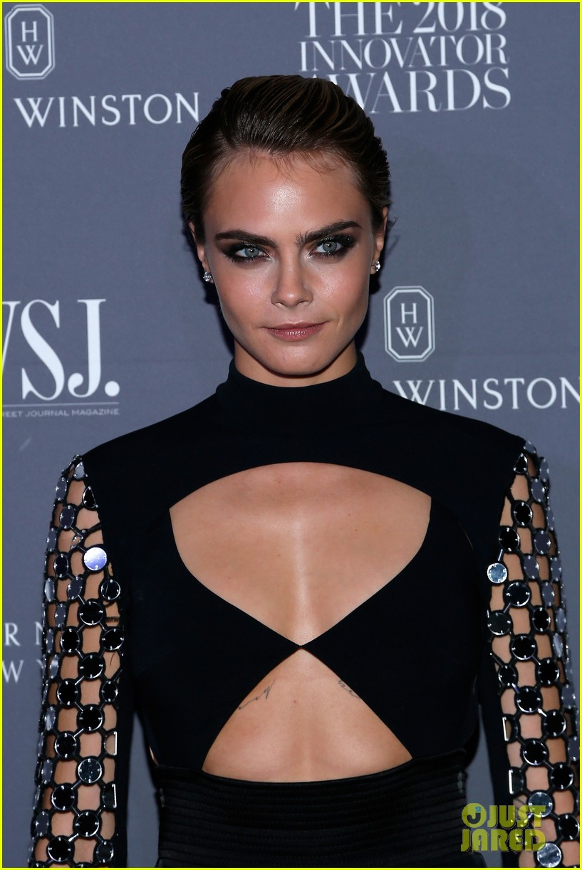 cara delevingne attends wsj magazine innovator awards honor phoebe waller bridge 10