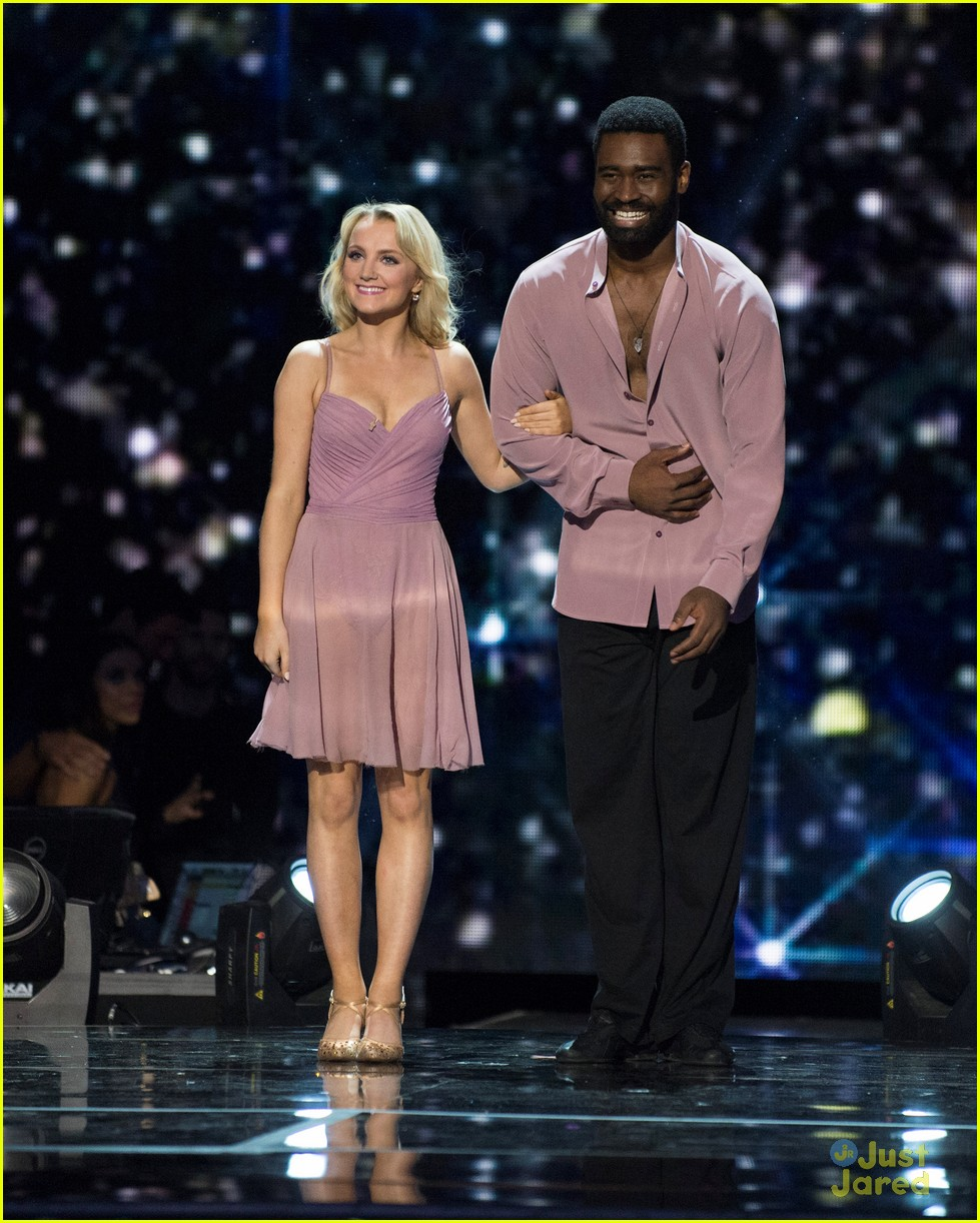 Evanna Lynch Says Partner Keo Motsepe Deserves To Be In Dwts Finals Photo 1199272 Dancing With The Stars Evanna Lynch Keo Motsepe Pictures Just Jared Jr