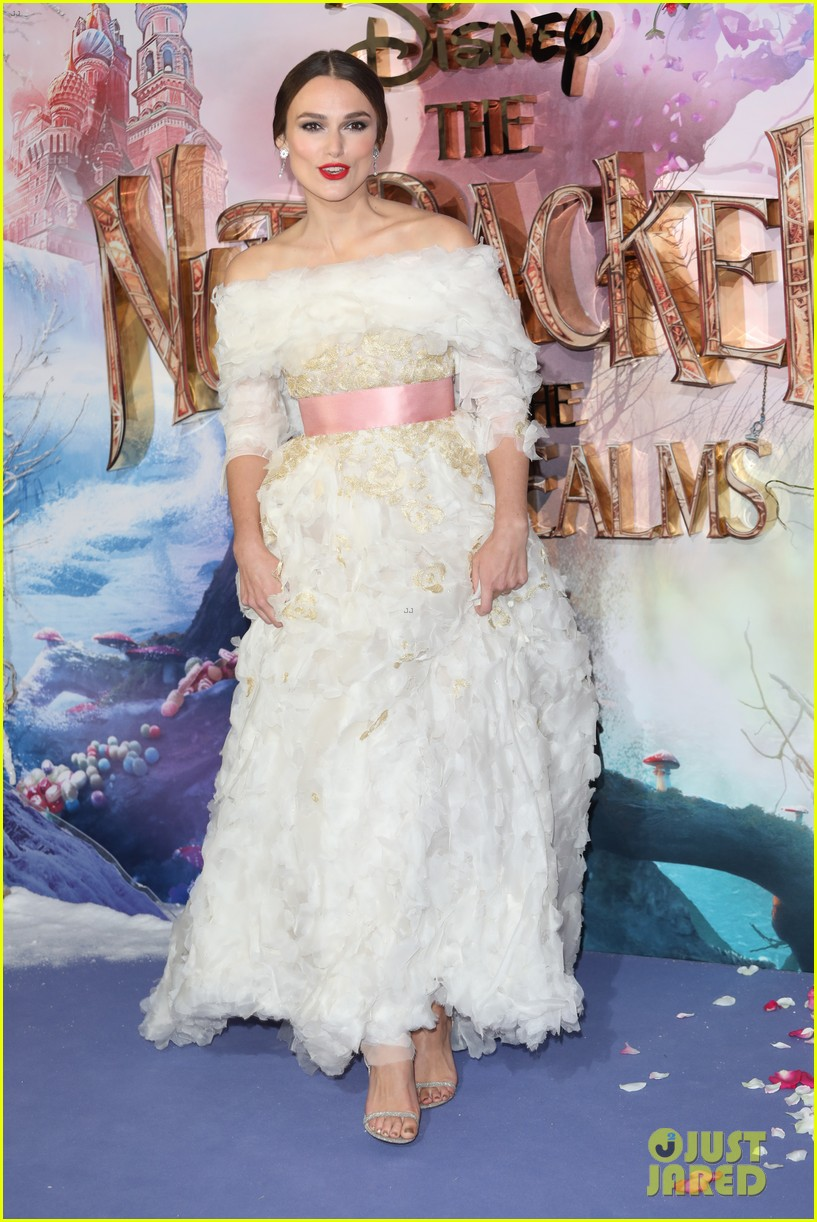 mackenzie foy pink dress keira knightley nutcracker london 21
