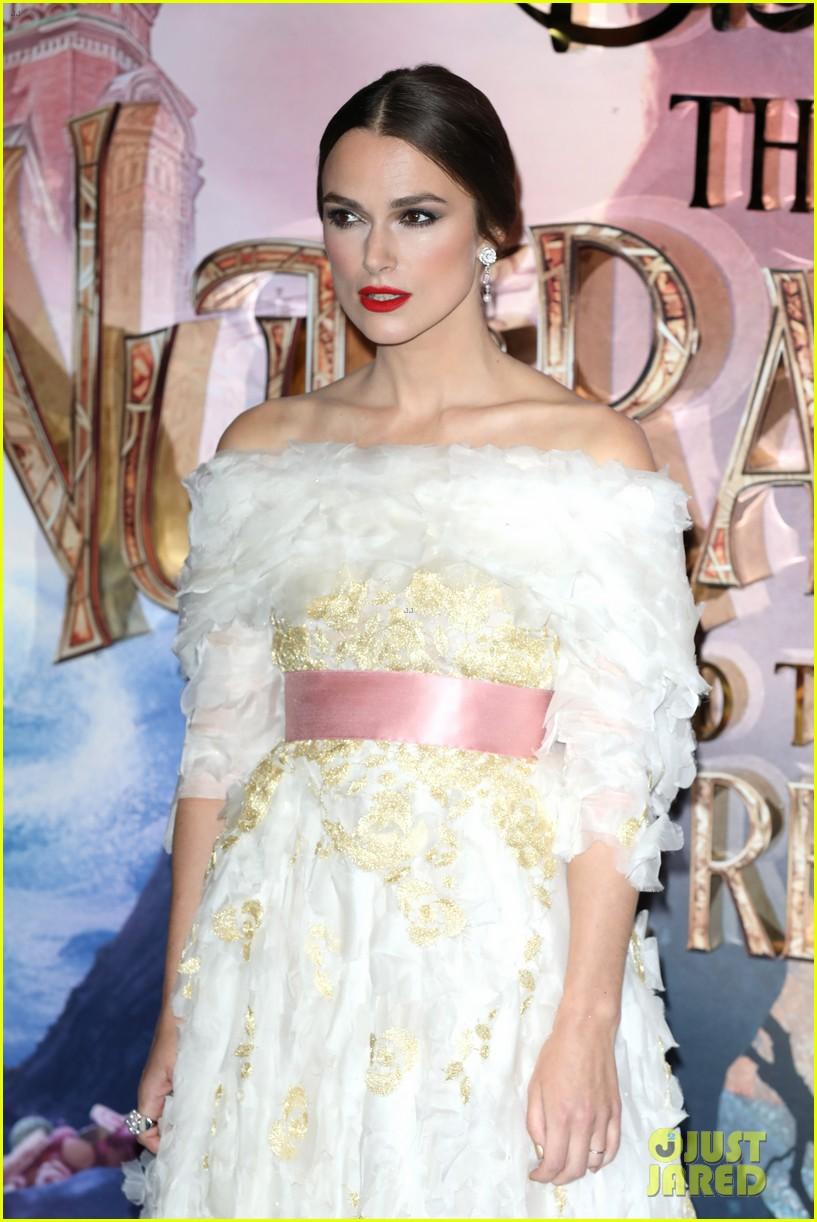 mackenzie foy pink dress keira knightley nutcracker london 30