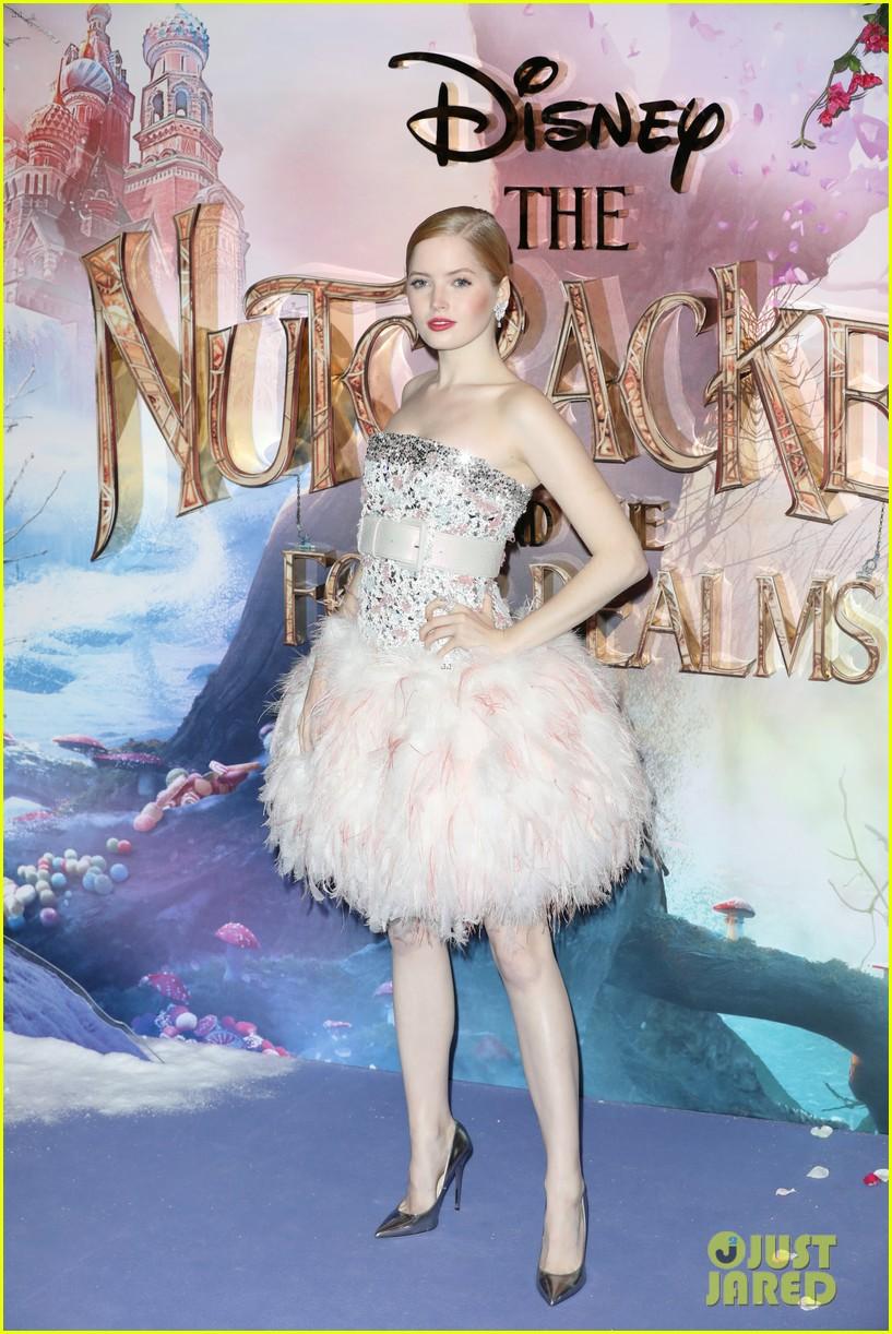 mackenzie foy pink dress keira knightley nutcracker london 32