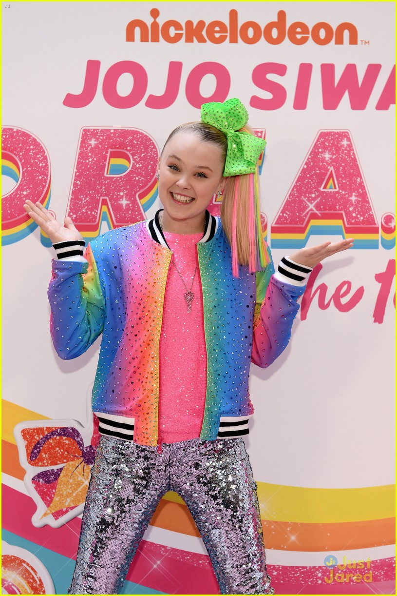jojo siwa dream tour announcement event pics 03