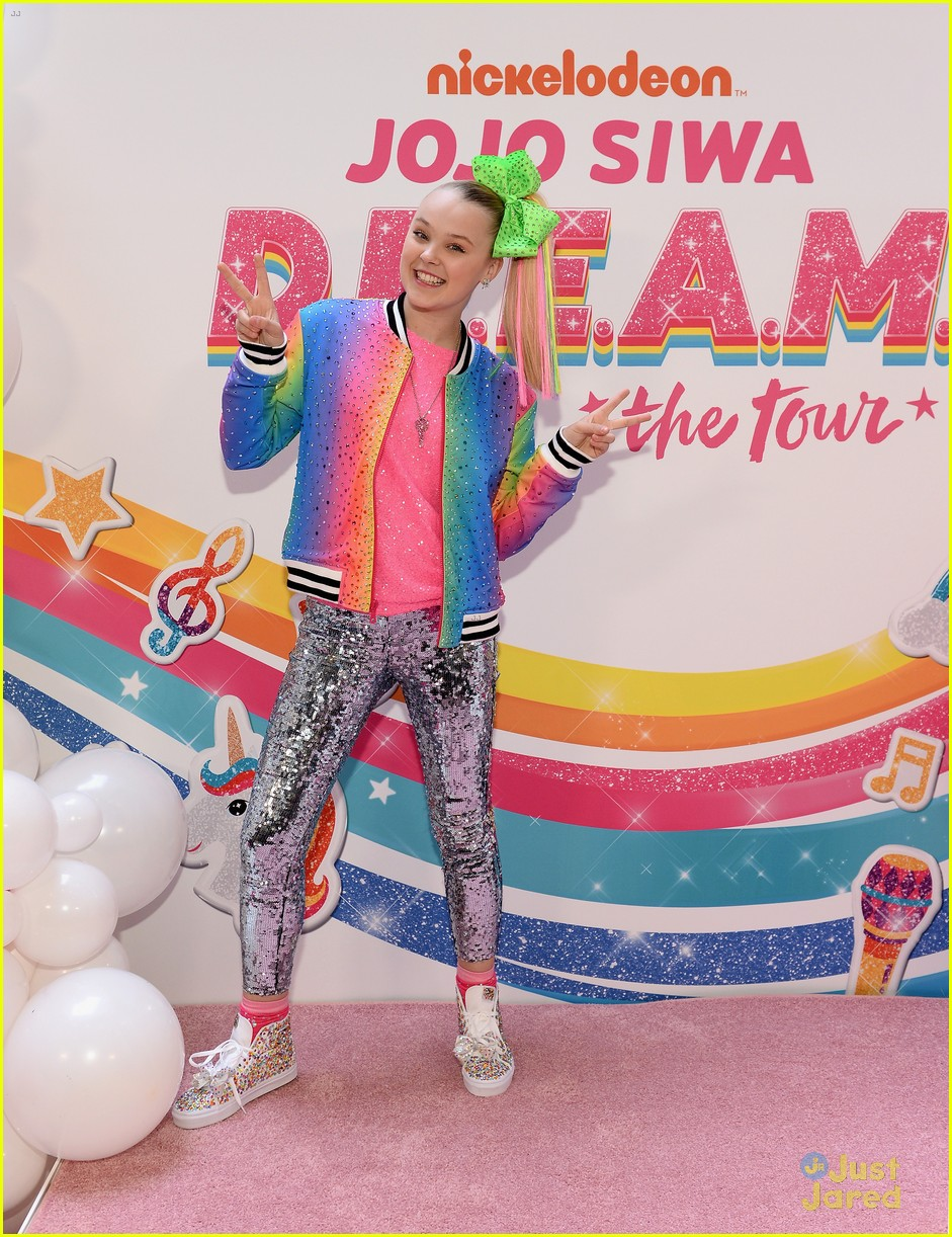 jojo siwa dream tour announcement event pics 06