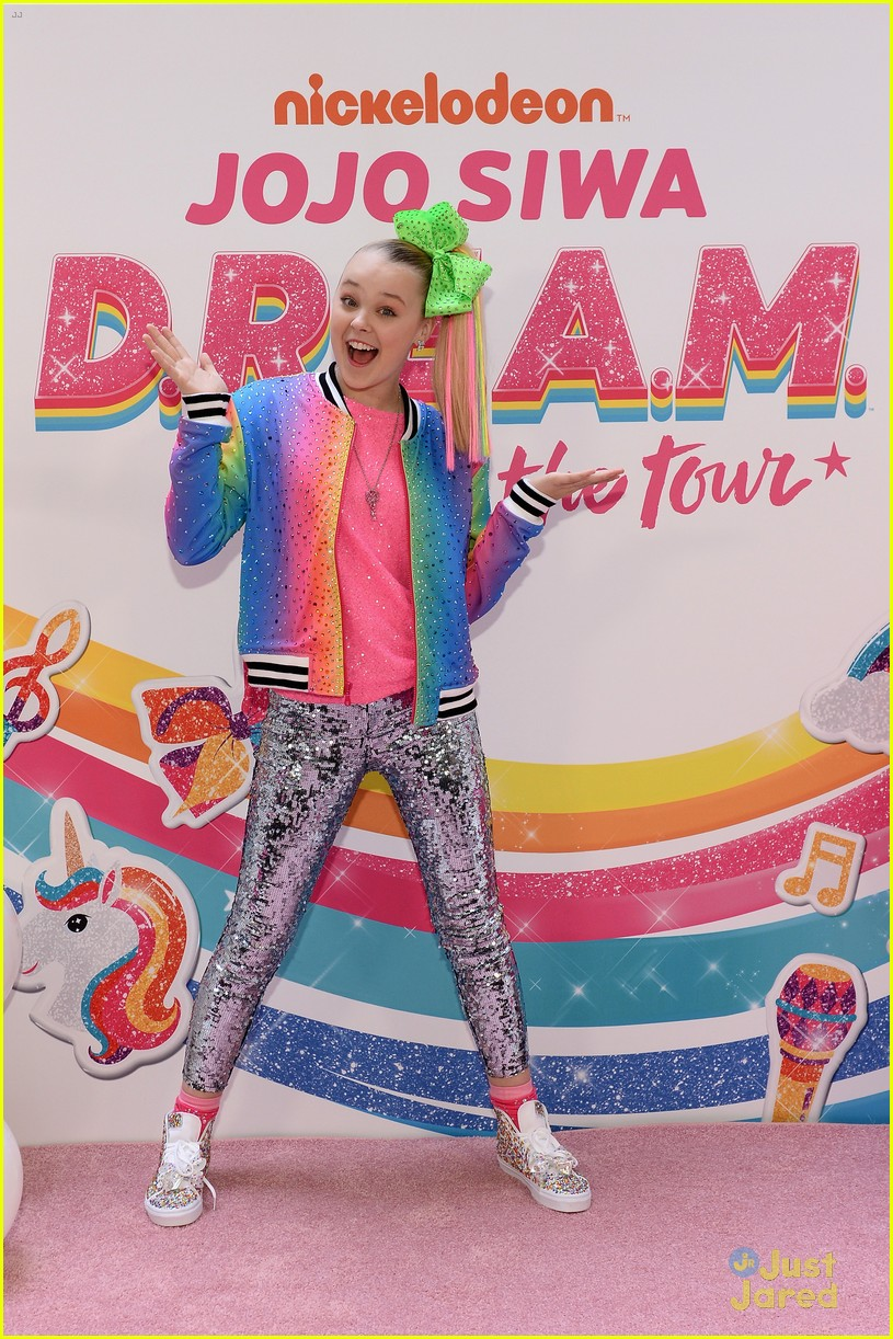 jojo siwa dream tour announcement event pics 09