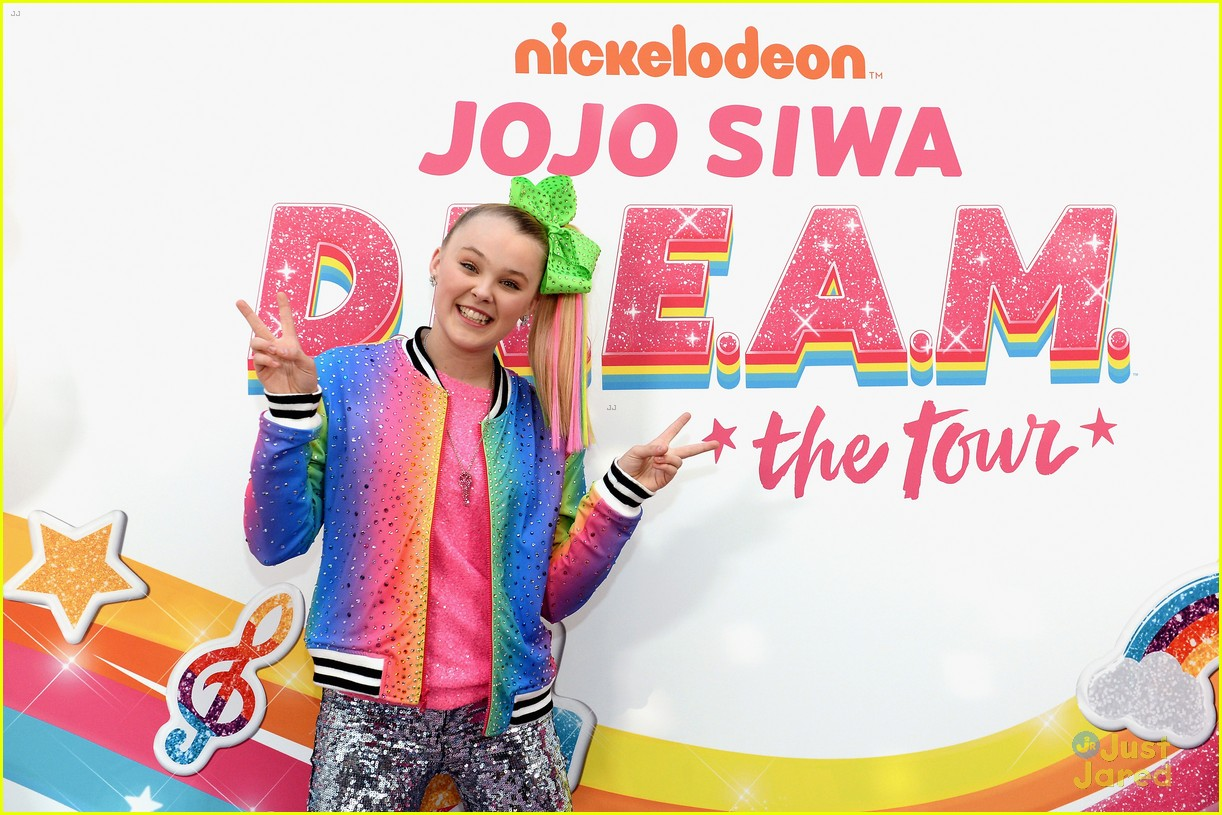 jojo siwa dream tour announcement event pics 14
