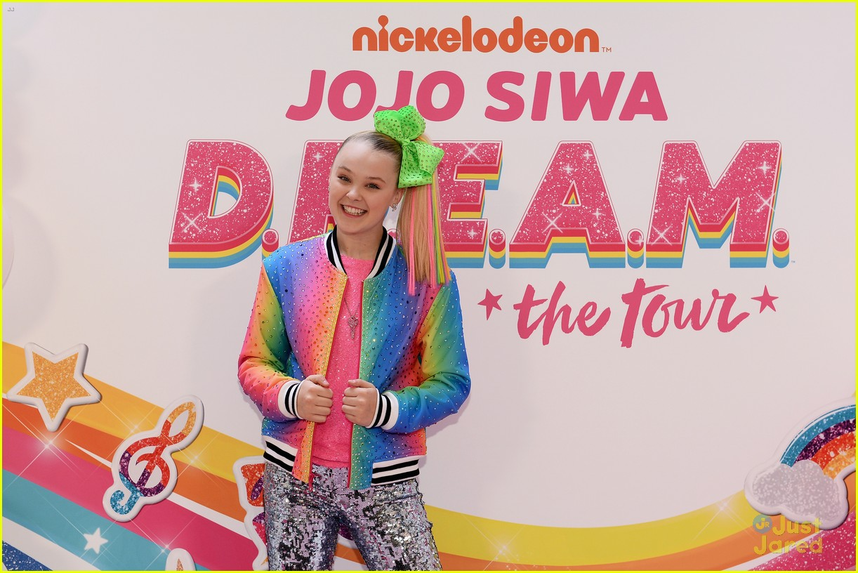 jojo siwa dream tour announcement event pics 24