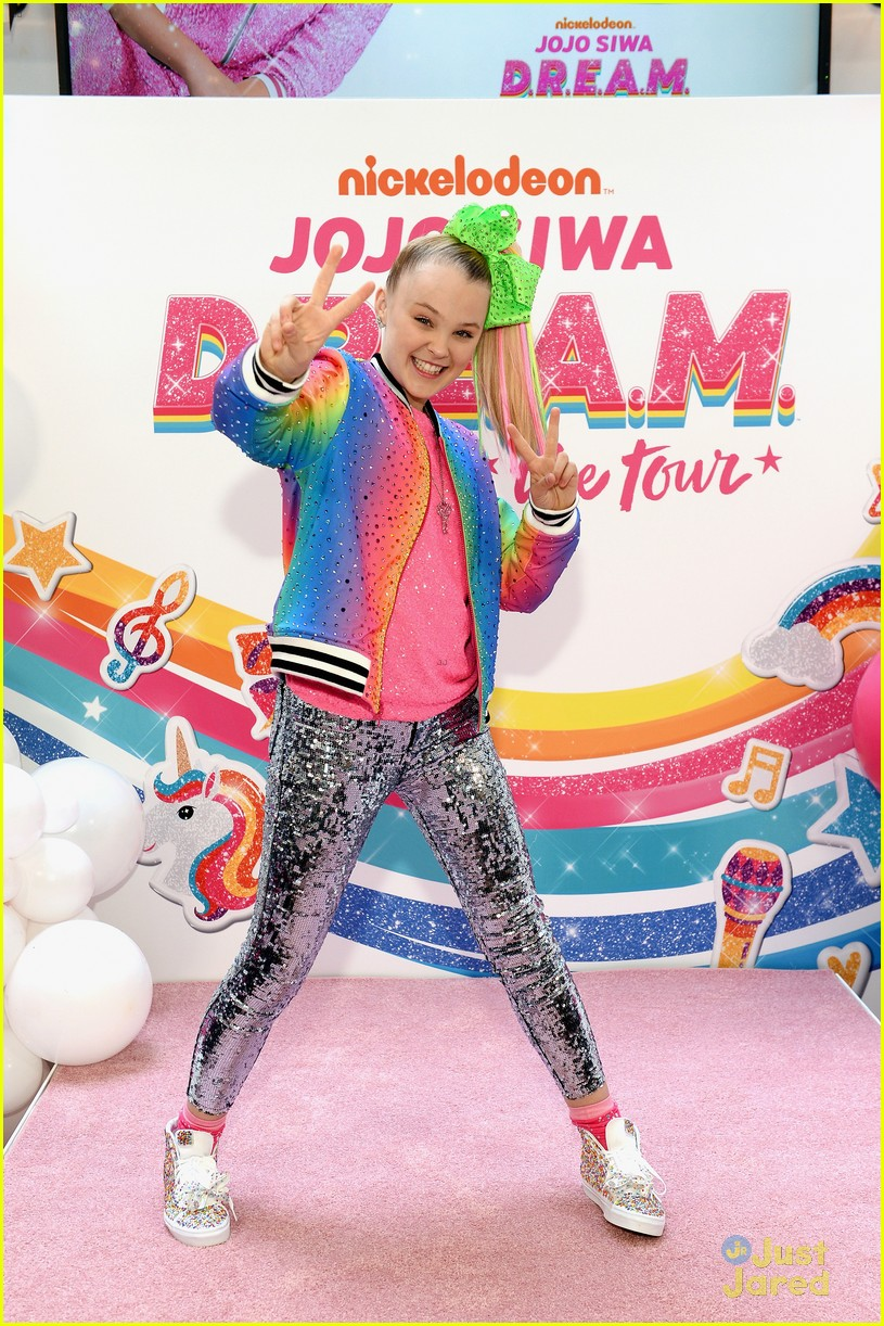 jojo siwa dream tour announcement event pics 25