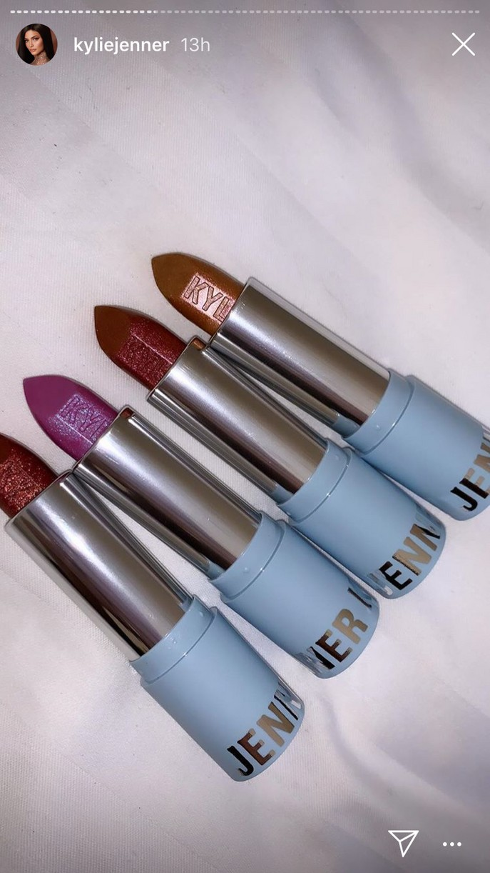 kylie jenner reveals holiday cosmetics collection 13