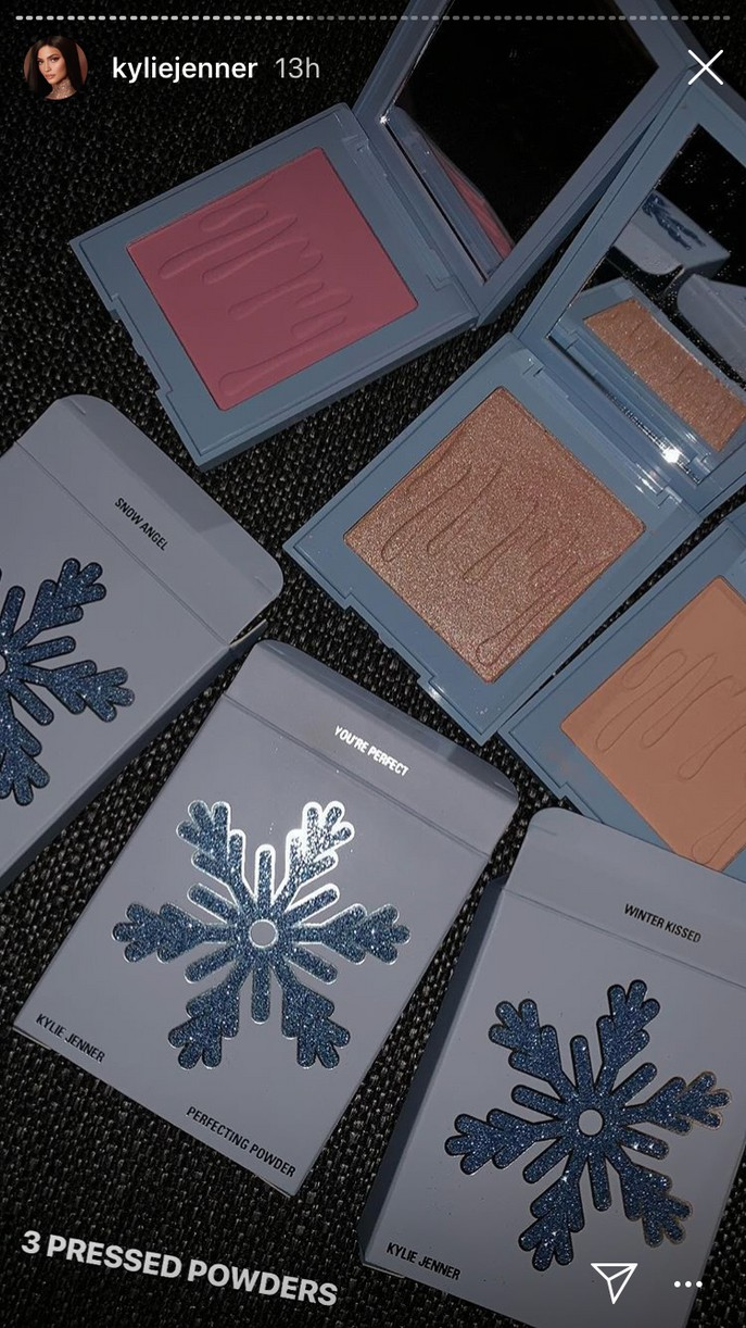 kylie jenner reveals holiday cosmetics collection 15