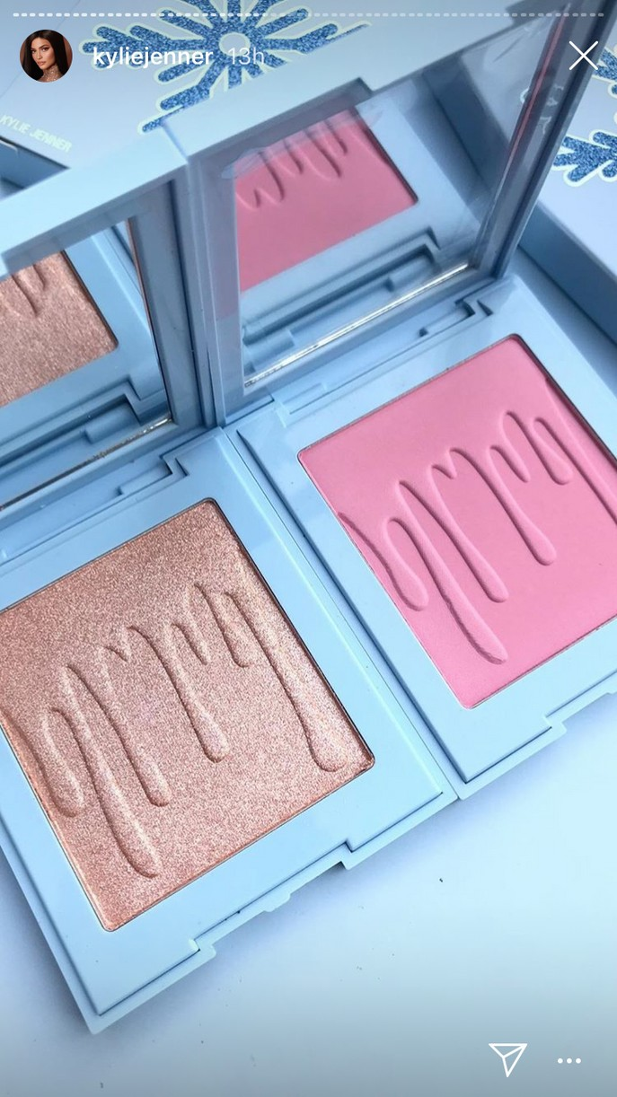 kylie jenner reveals holiday cosmetics collection 16