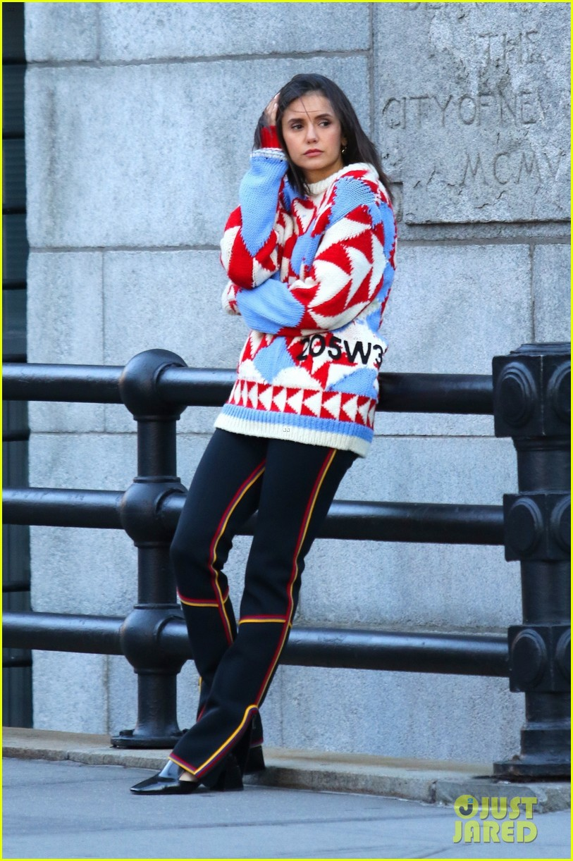 nina dobrev gets in the festive spirit for new photoshoot 05