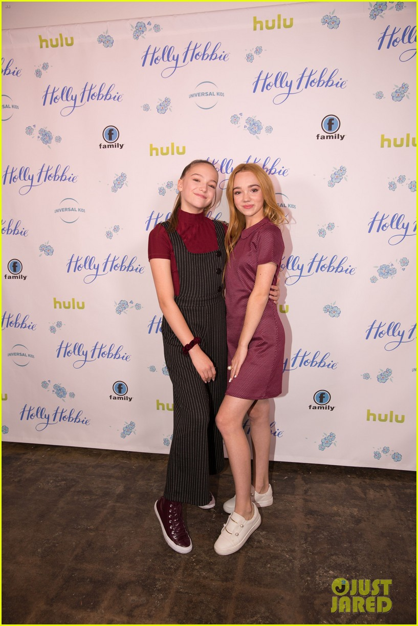 ruby jay celebrates premiere of holly hobbie 02