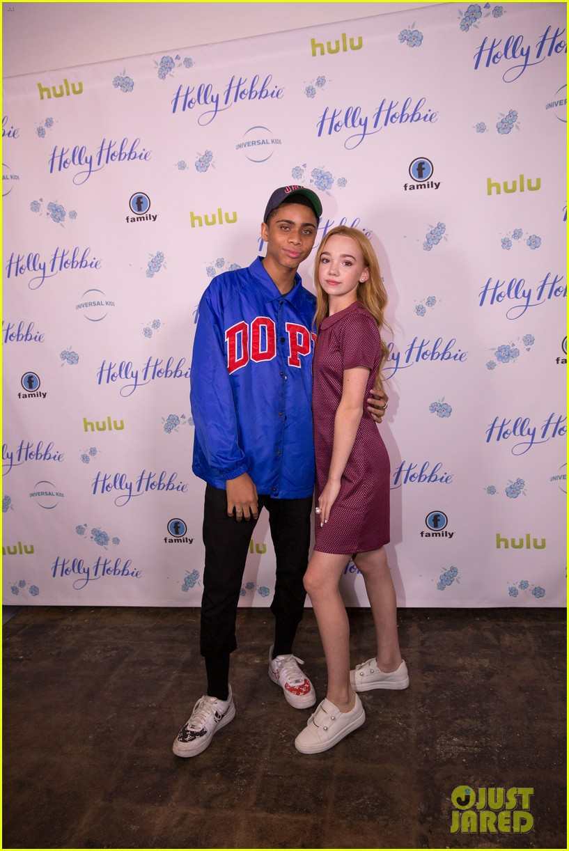 ruby jay celebrates premiere of holly hobbie 05