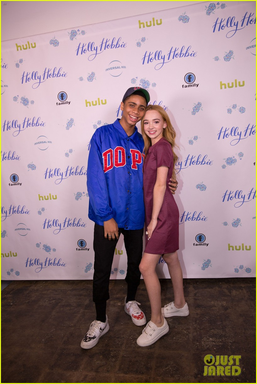 ruby jay celebrates premiere of holly hobbie 12