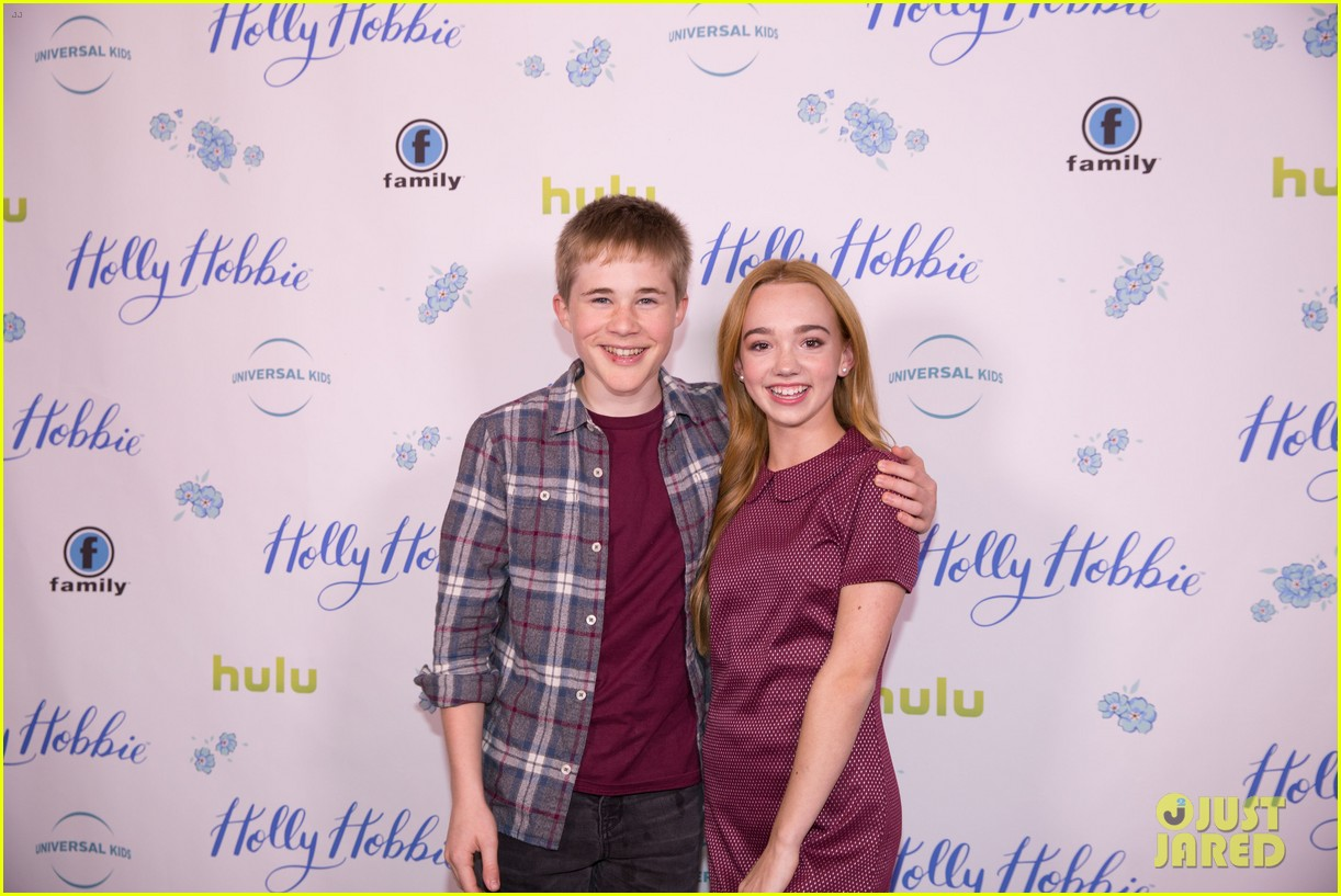ruby jay celebrates premiere of holly hobbie 15