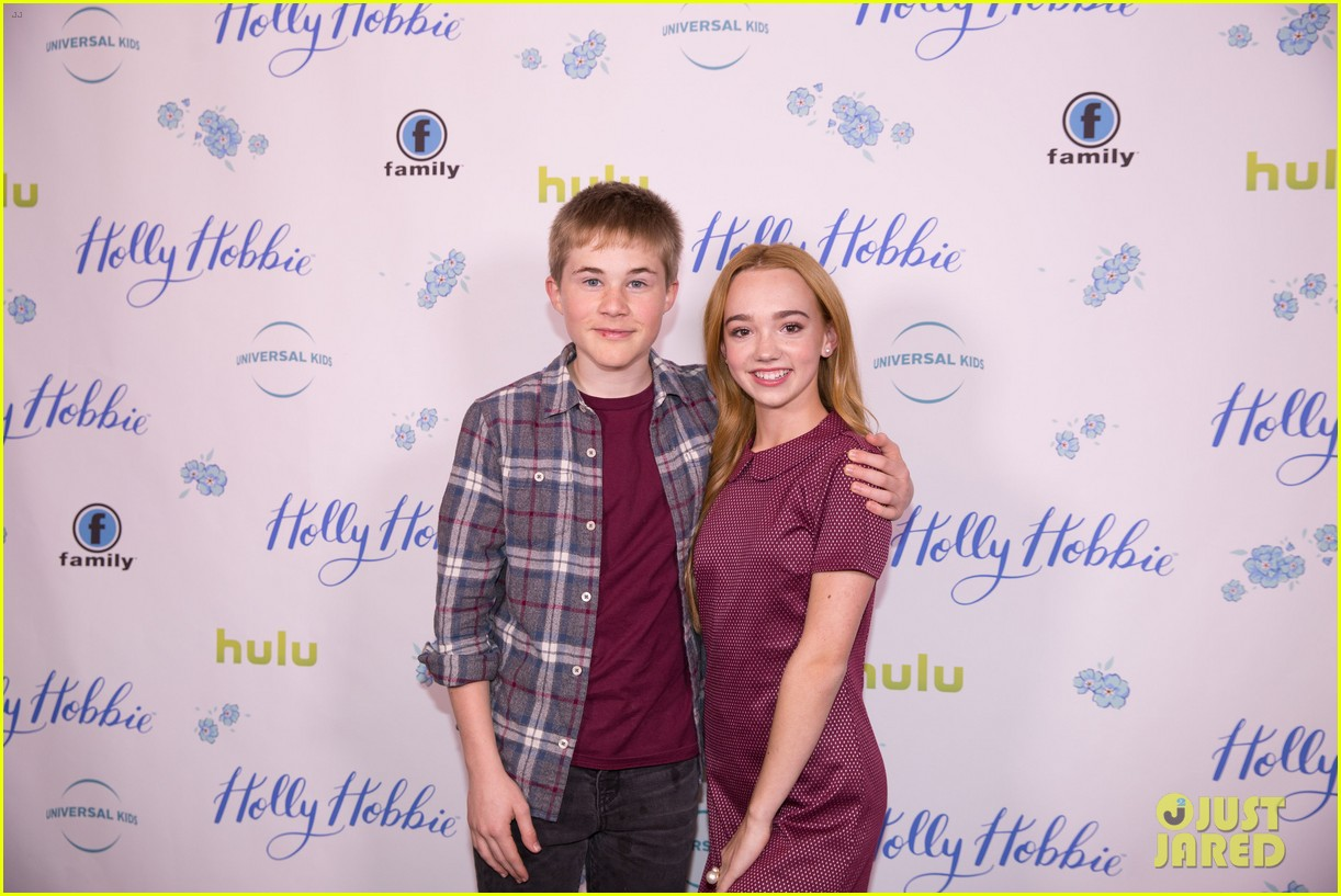 ruby jay celebrates premiere of holly hobbie 16