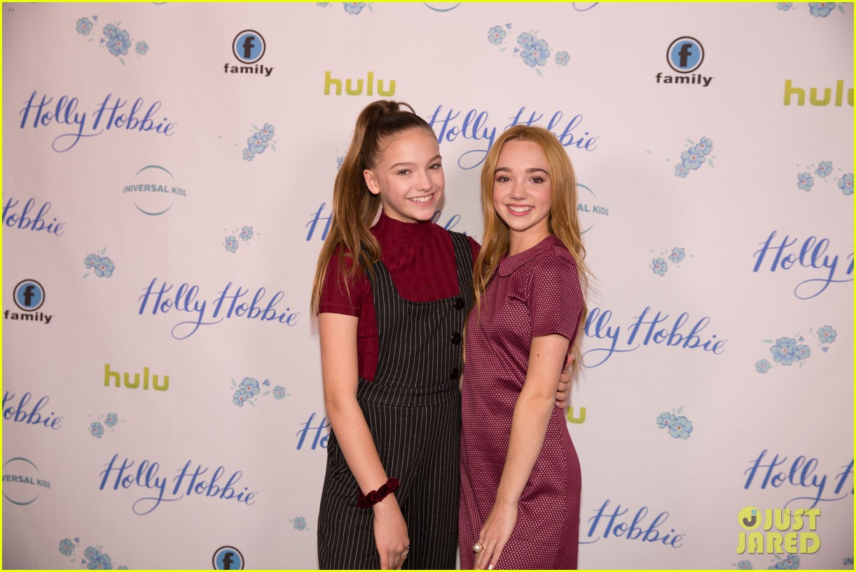 ruby jay celebrates premiere of holly hobbie 21