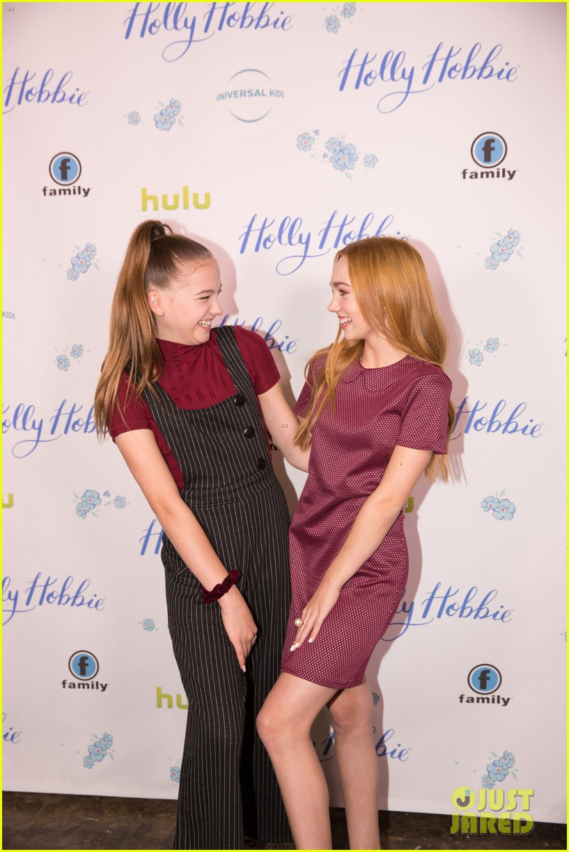 ruby jay celebrates premiere of holly hobbie 22